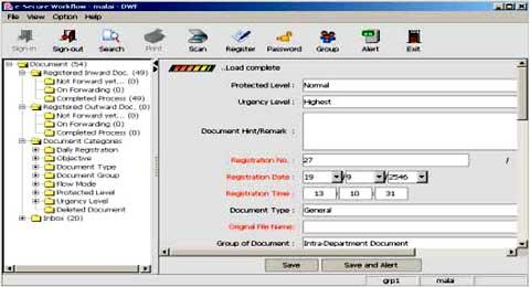 e-Workflow, e-Document flow, Digital Signature, e-Signature